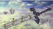 Escenario con forma de la Espada Maestra SSB4 (Wii U)