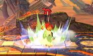 Karateka Mii Cabezazo meteorico SSB4 (3DS)
