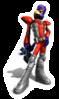 Pegatina Falco Star Fox Assault SSBB