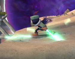 Prímido espadachín atacando (3) ESE SSBB