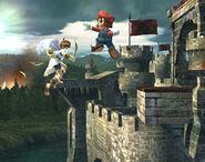 Smash meteórico Mario SSBB (1)