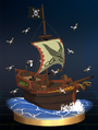Trofeo de Barco Pirata SSBB
