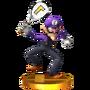 Trofeo de Waluigi SSB4 (3DS)