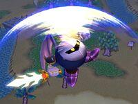 Ataque aéreo superior Meta Knight SSBB