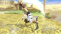 Ataque fuerte hacia arriba Pit SSB4 Wii U