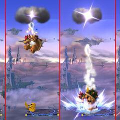 Pikachu usando Trueno como <a href=
