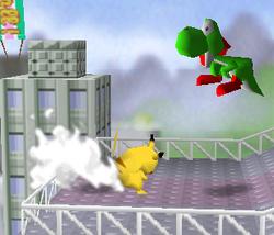 Lanzamiento delantero de Pikachu (3) SSB