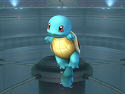 Ataque aéreo inferior Squirtle SSBB