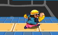 Ataque normal de Wario (2) SSB4 (3DS)