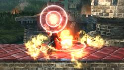 Muro de fuego (1) SSB4 (Wii U)