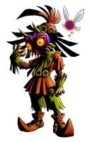 Pegatina Skull Kid SSBB