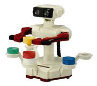 Pegatina de Robot y bloques SSBB