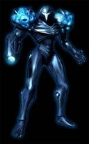 Samus oscura en Metroid Prime 2 Echoes