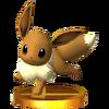 Trofeo de Eevee SSB4 (3DS)