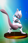 Trofeo de Mewtwo (Smash 1) SSBM
