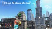 Vista de Nueva Donk en Super Mario Odyssey