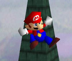 Ataque aéreo normal de Mario SSB