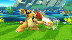 Ataque normal de Bowser (1) SSB4 (Wii U)