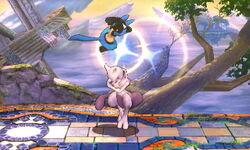 Lanzamiento hacia arriba Mewtwo (3) SSB4 (3DS)