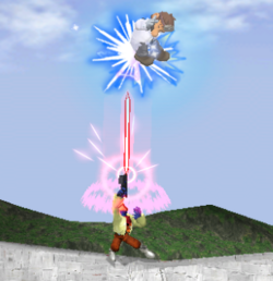 Lanzamiento hacia arriba de Falco (2) SSBM