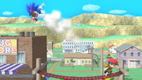 Lanzamiento hacia atrás Ness (2) SSB4 (Wii U)
