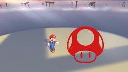 Pose de victoria lateral (1) Mario SSB4 (Wii U)