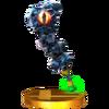 Trofeo de Maza de hierro SSB4 (3DS)