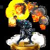 Trofeo de Samus (alt.) SSB4 (Wii U)