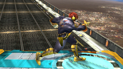 Agarre corriendo Captain Falcon SSBB