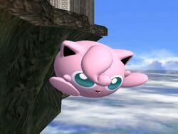 Ataque aéreo normal Jigglypuff SSBB