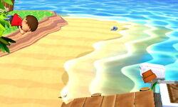 Ataque en carrera Aldeano (2) SSB4 (3DS)