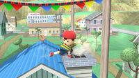 Ataque fuerte hacia abajo Ness SSB4 (Wii U)