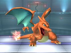 Ataque normal Charizard SSBB (2)