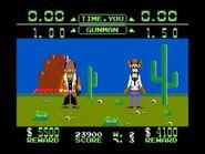 Dos tiradores en Wild Gunman NES