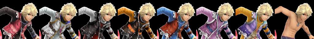 Paleta de Colores de Shulk (Wii U) SSB4