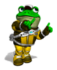 Pegatina Slippy Toad (Star Fox Assault)SSBB