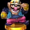 Trofeo de Wario SSB4 (3DS)