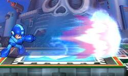 Ataque Smash lateral de Mega Man (2) SSB4 (3DS)