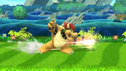 Ataque fuerte lateral de Bowser (1) SSB4 (Wii U)