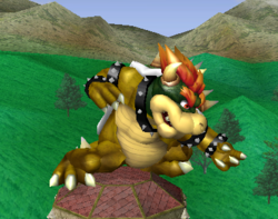 Ataque normal de Bowser (1) SSBM