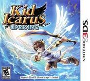 Carátula Kid Icarus Uprising