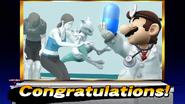 Créditos Modo Leyendas de la lucha Mewtwo SSB4 (Wii U)