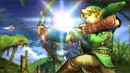 Créditos Modo Senda del guerrero Link SSB4 (3DS)