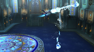 Movimiento especial hacia arriba de Greninja (2) SSB4 (Wii U)