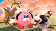 Kirby Duck Hunt SSB4 (Wii U)