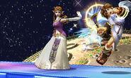 Texturas de Zelda en la versión final SSB4 (3DS)