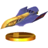 Trofeo de Falcon Flyer SSB4 (3DS)