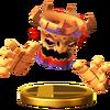 Trofeo de Tiki Tong SSB4 (Wii U)