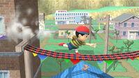 Agarre corriendo Ness SSB4 (Wii U)