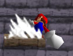 Ataque smash lateral de Mario (2) SSB